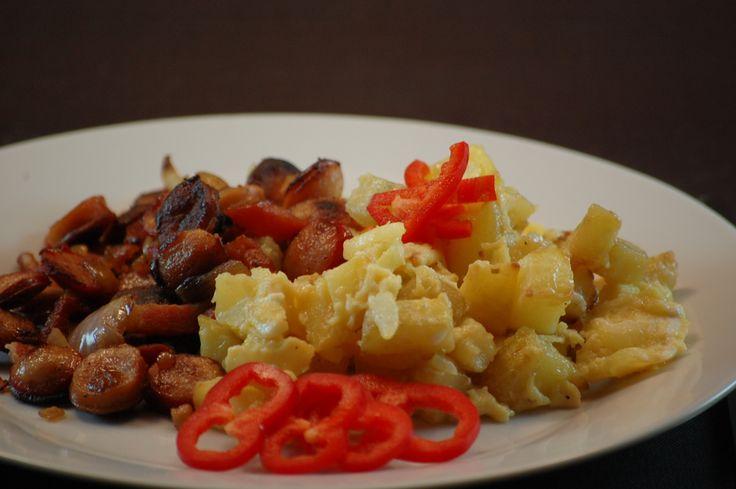 Scrambled eggs lavet i actifry  kunne friste til morgenmaden Actifry - Lises-mad
