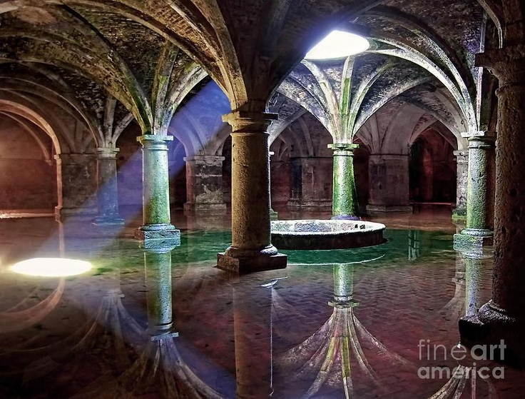 Cisterna manuelina (XVI sec.) nella fortezza di El Jadida, Marocco (foto di Alexandra Jordankova)