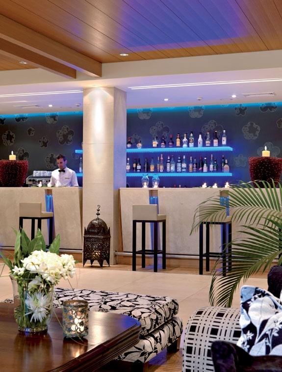 The Bar of the Hotel  http://divanimeteorahotel.com/