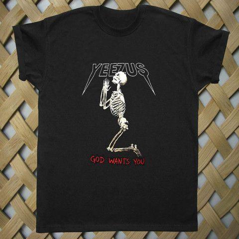 Yeezus t shirt yeezus indian skeleton yeezus tour tshirt kanye west only 14.9$ rate shipping 9.9$ secured payment using paypal www.payunan.com