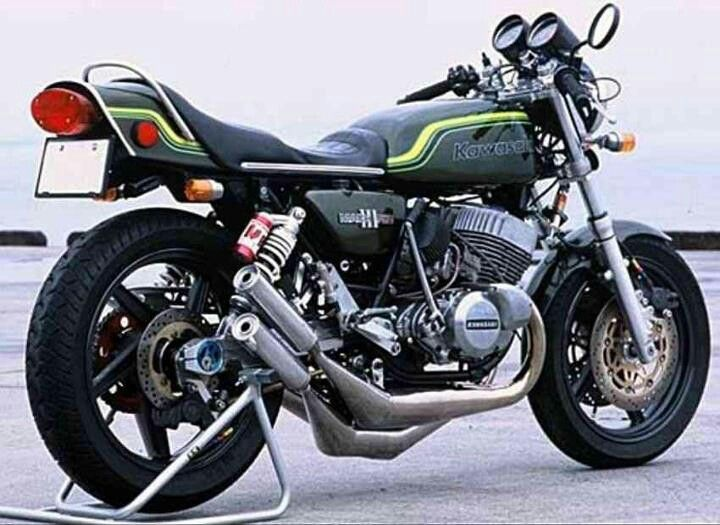 Kawasaki H2 machIII