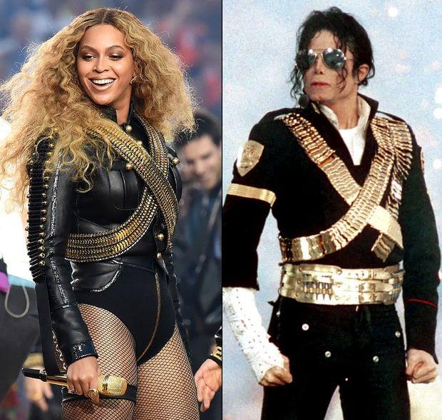 Beyoncé Pays Tribute to Michael Jackson's Super Bowl Costume - Us ...