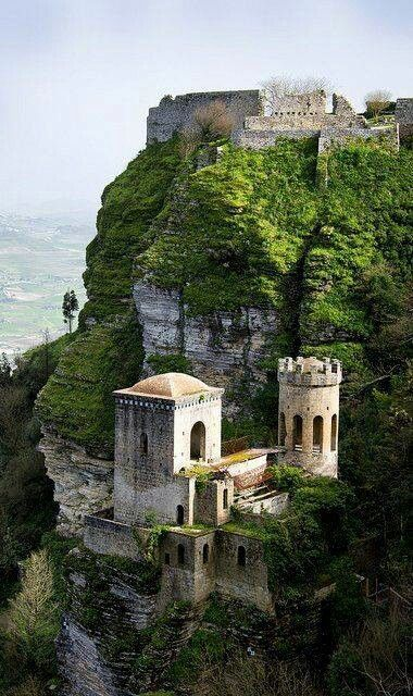 Erice Castle , Sicly, Italy