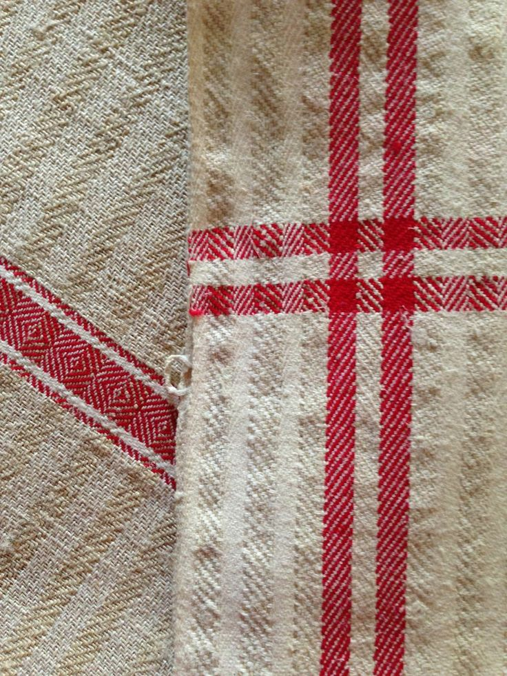 Hand-woven cotton and hemp table linens from Sighisoara, Transylvania in Romania. Available at Mingei World Arts.