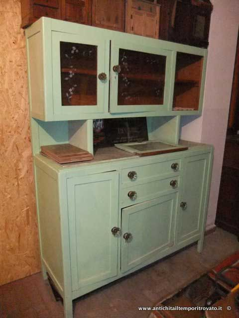 119 best Credenze anni 50 images on Pinterest | Vintage kitchen ...