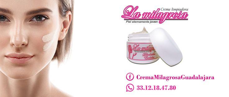 Crema La Milagrosa ayuda a combatir el paño, manchas solares, manchas axila y cuello, ojeras, pecas, cualquier tipo de acné, espinillas, cicatrices, marcas de piquetes de zancudos, cacarizos, linease de expresión, además te rehidrata y rejuvenece la piel! ;)  PEDIDOS POR CEL O WHATSAPP 3312184780