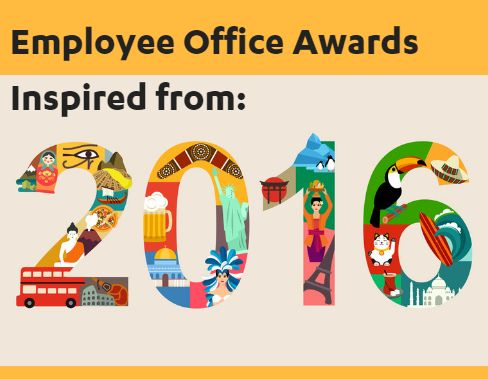 creative end of year employee recognition ideas employee office awards inspired from 2016 from