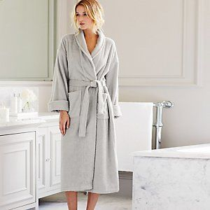 Classic Cotton Robe | The White Company