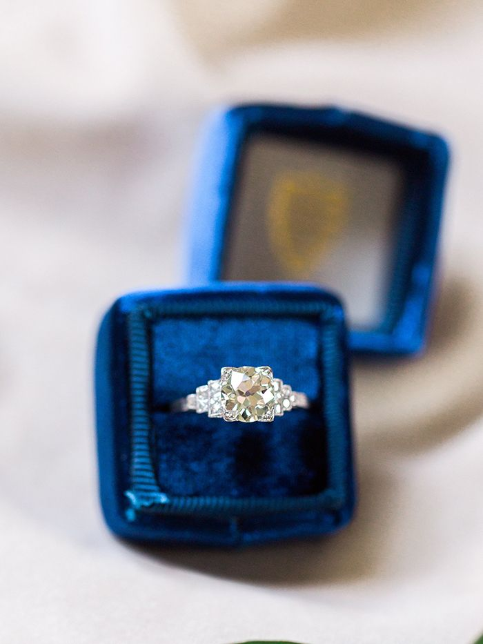 Art Deco Engagement Ring    #wedding #weddings #fineartweddings #weddingideas #filmphotography #vintagewedding #engagementring