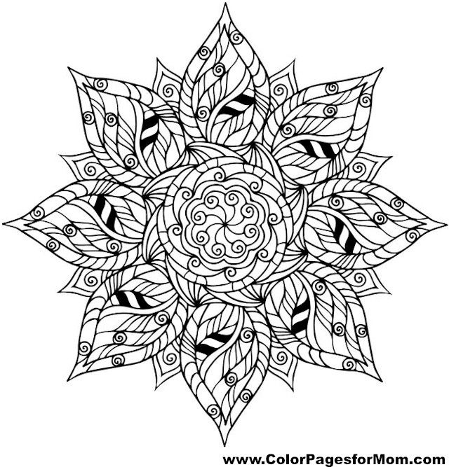 164 best Color Art Therapy - Mandalas images on Pinterest ...