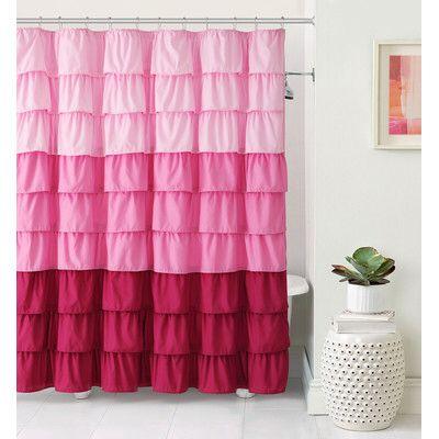 Petit Couli Ruffle Shower Curtain
