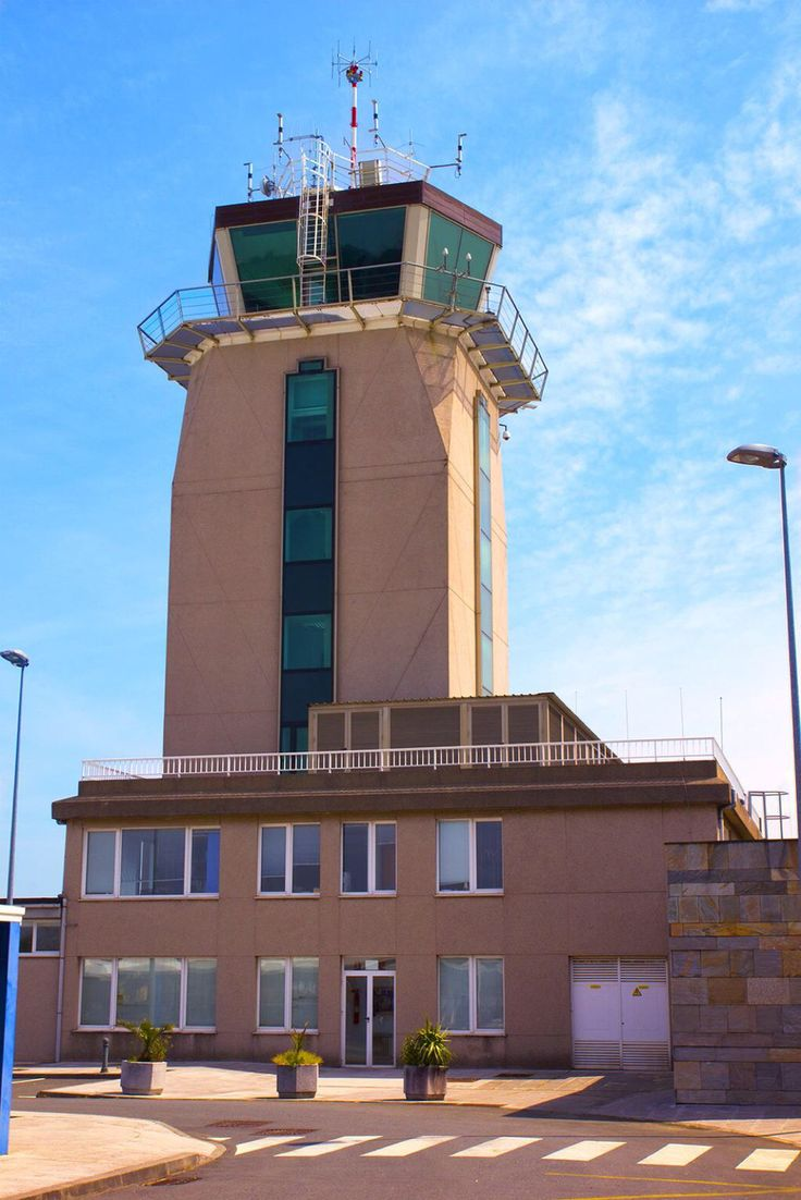 Alvedro Airport Control Tower