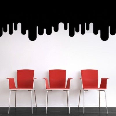 Giant Drips Wall Decal   Giant Drips Wall Decal   Chillins   Wall Decals    Plastic Surgery For Your Walls