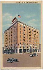 Vincent Hotel Benton Harbor Mi 1935