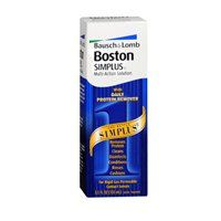 #care #Bausch & #Lomb Boston Simplus Multi-Action Solution for rigid gas permeable contact lenses.