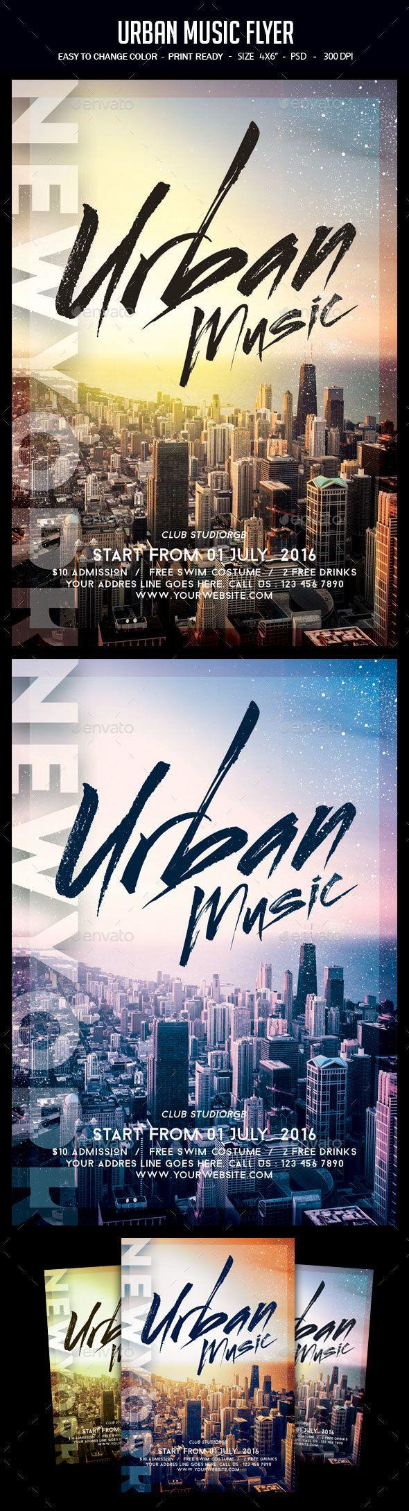 Urban Music Flyer