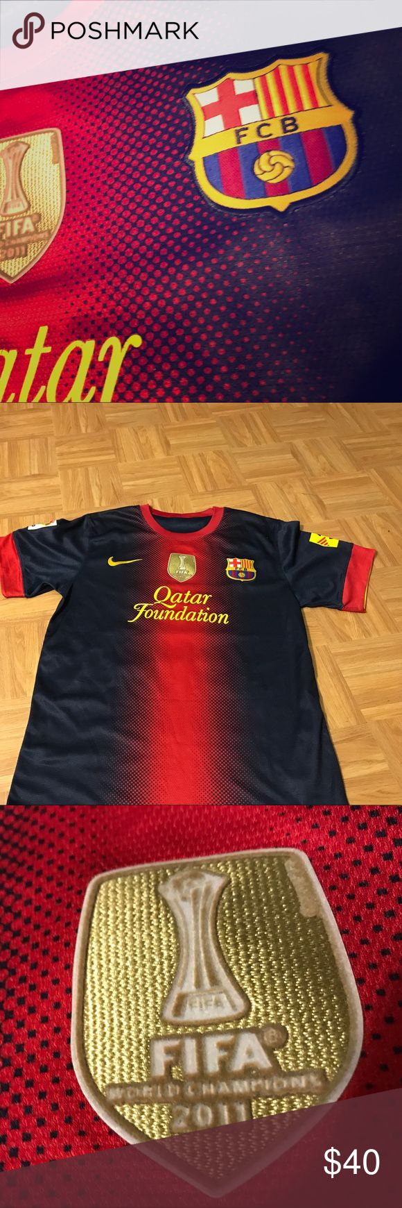 Barcelona jersey Barcelona jersey number 1o Messi Nike Other