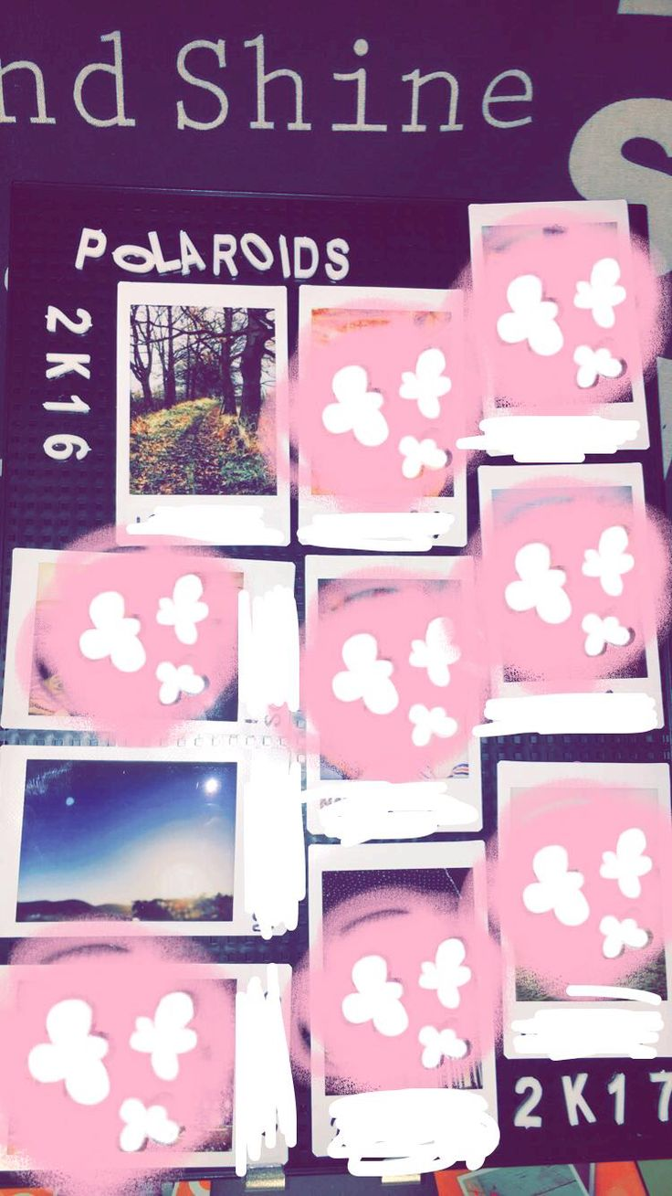 Ok so this is a diy of mine. I don't know if anyone else has done this but anyway... It's a really nice way to keep your polaroids in a neat way and easy, all you need is: a pin board(funny I'm on pin-trest😂) ,blue tack to stick the polaroids on or any photos you want they don't have to be Polaroids and then you are done. If you want you can add letters of e.g POLAROIDS and then 2k16,2k17 or put the dates underneath. ;)
