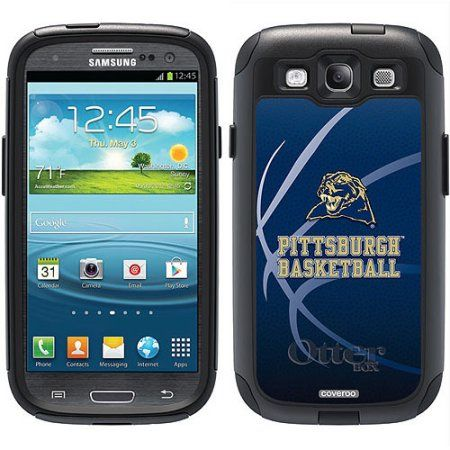 University of Pittsburgh Basketball Design on OtterBox Commuter Series Case for Samsung Galaxy S3