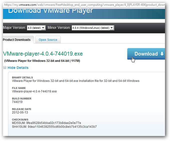 Run Any Operating System on Windows Using VMware Player Freeware. VMware Player is enough for any normal Windows user to use Virtualization and run any OS.