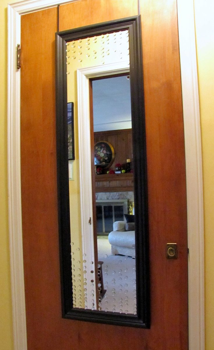 Upcycle a Full Length Mirror with Mini Mirrors