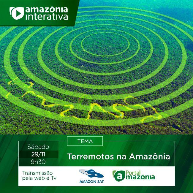 Programa Amazônia Interativa do dia 29/11. 9h30
