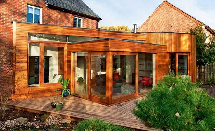Znalezione obrazy dla zapytania timber frame extension