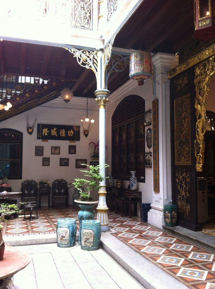 architecture - Pinang Peranakan Mansion, Penang, Malaysia