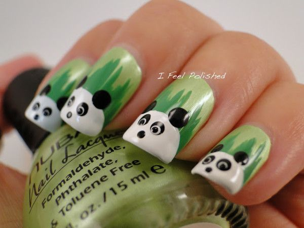 Best 25 animal nail designs ideas on pinterest nail art pics lovely animal nail art ideas for girls who love cute prinsesfo Choice Image