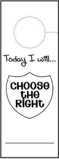 Choose the Right Cards and Doorhanger