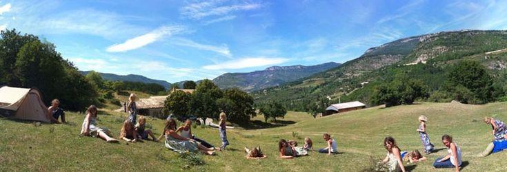 Fr drome proven ale ferme de clareau camping en bord for Camping au jardin de la ferme