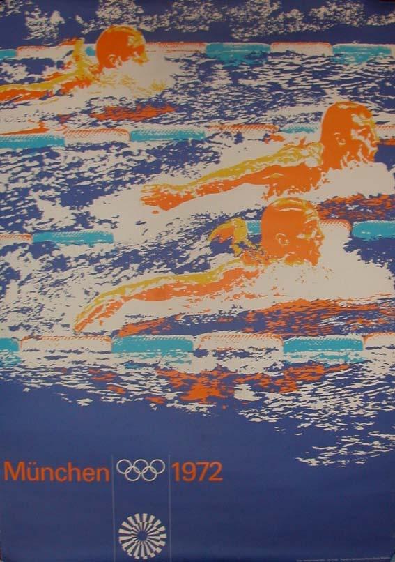 Munich Olympics 1972 Poster