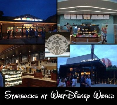 Where to find Starbucks at Walt Disney World.  (Although I'm not a fan, and long for the days when Disney was more purist... I know there are fans who love their Starbucks.  So this pin is for them)!
