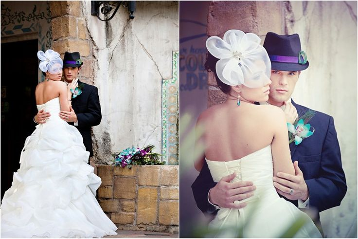 A Peacock Themed Wedding Photo Shoot - The Details - Weddingstar Blog
