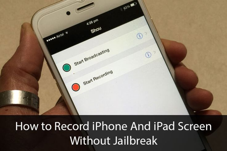learn which are the latest ios screen recorder available in the market and how to use them to record iOS screen videos in your device.