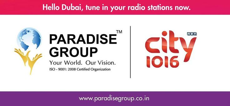 Hit LIKE if you've heard these ads on one of Dubai's busiest radio stations City 1016 - Open Your Heart and Khul Ke Bol  Ad 1 - https://www.youtube.com/watch?v=U9MIKwmmNio&feature=youtu.be   Ad 2 - https://www.youtube.com/watch?v=ir5nFJC3er4&feature=youtu.be  We hope to see at the Indian Property Show as we present to you India's Paradise of Investment.   For more, please visit www.paradisegroup.co.in