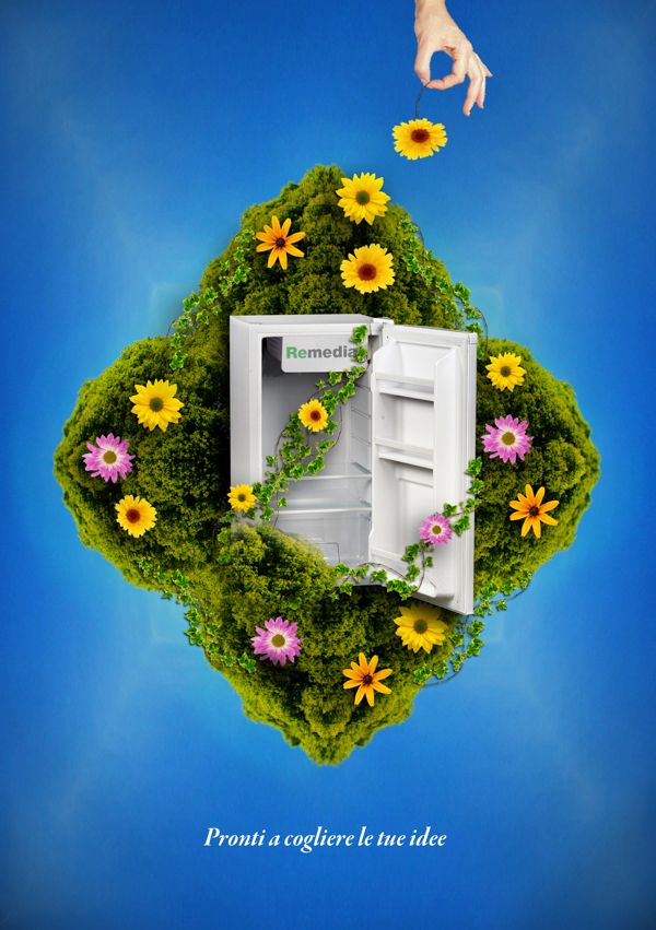 RECYCLING WEEE / Advertising Poster on Behance