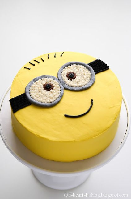 i heart baking!: minion cake