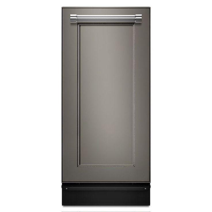 Kitchenaid 15in panel ready undercounter trash compactor