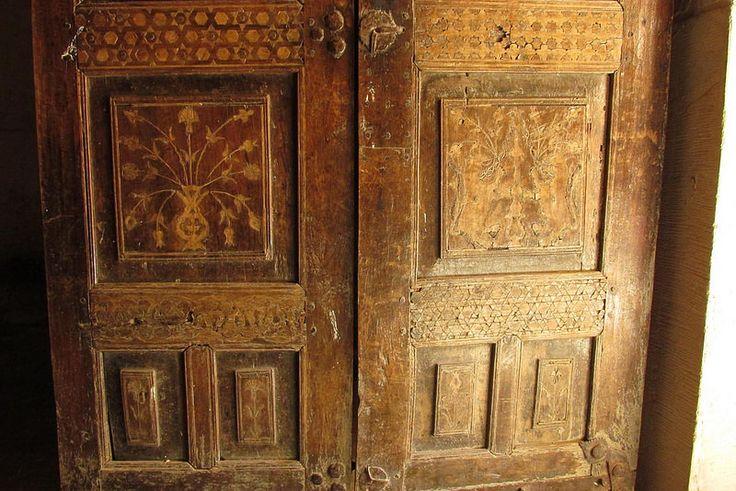 Paul  /  Golden Road photography     | Wooden Door, 2014  |  Mor Hananyo Monastery  |     Yeşilli, Mardin, Turkey