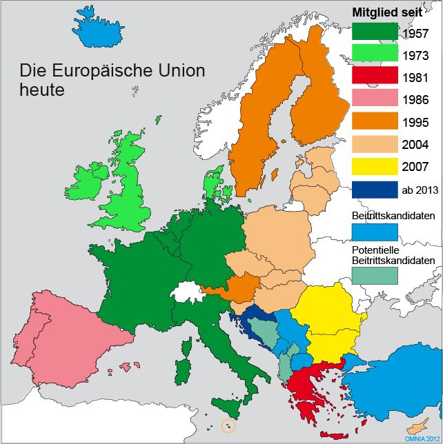 How Many Countries Were There In The European Union Eu
