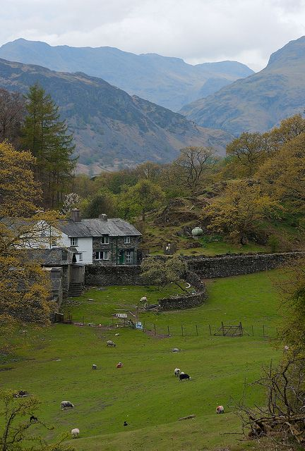 Loughrigg Tarn, Lake District - one of Beatrix Potter's farms