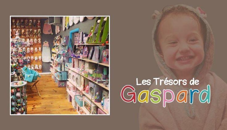 Les Trésors de Gaspard ... Cette belle boutique que tient avec beaucoup d'amour et de passion, Charlotte, Maman du petit Gaspard . J'avoue ... dans sa boutique, on craque, on rêve, on est bien ! Dans la boutique Les trésors de Gaspard situé à Roubaix...