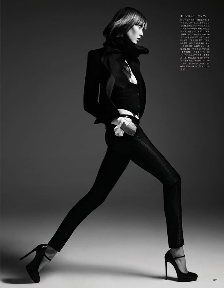 Karlie Kloss Poses for Hedi Slimane in Vogue Japan June 2013   Fashion Gone Rogue: The Latest in Editorials and Campaigns