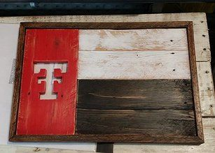 Texas Tech Texas Style sign #TTAA #TexasTech #SupportTradition