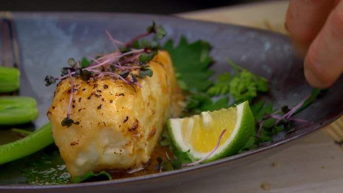 Miso-baked black cod recipe : SBS Food