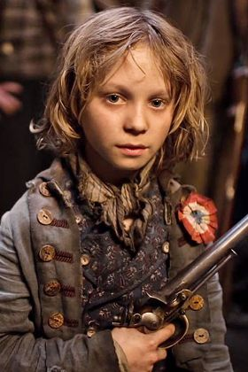 best character in les miserables...this kid did AMAZING