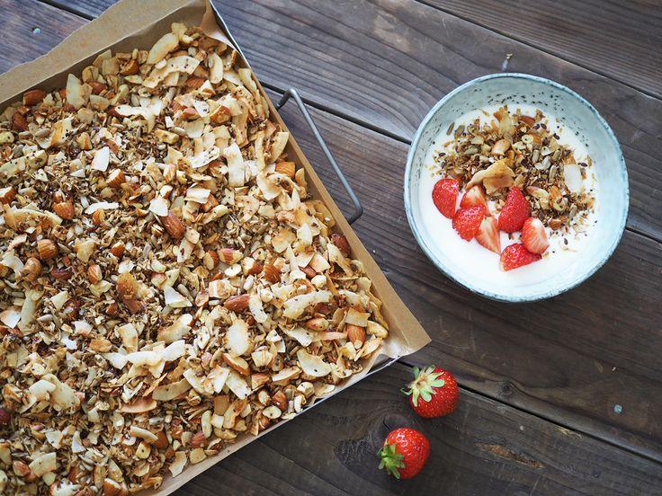 Glutenfri lakrits-granola - ceciliafolkesson.se – Naturlig mat & Hälsa
