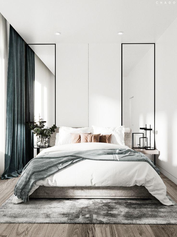 Wegdromen: minimalistische slaapkamers! Een opkome…