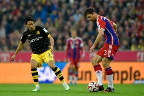 Shinji Kagawa - Borussia Dortmund - MF - #7 FC Bayern München vs. Borussia Dortmund Bundesliga Soccer